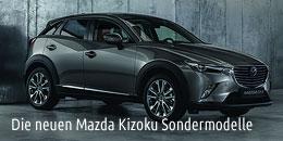 Mazda Kozuko Sondermodelle beim Autohaus-Erlebnistag in freiburg