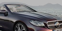 Mercedes-Benz E-Klasse Cabrio beim Autohaus-Erlebnistag