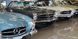 Mercedes-Benz Oldtimer Ausstellung beim <span style=