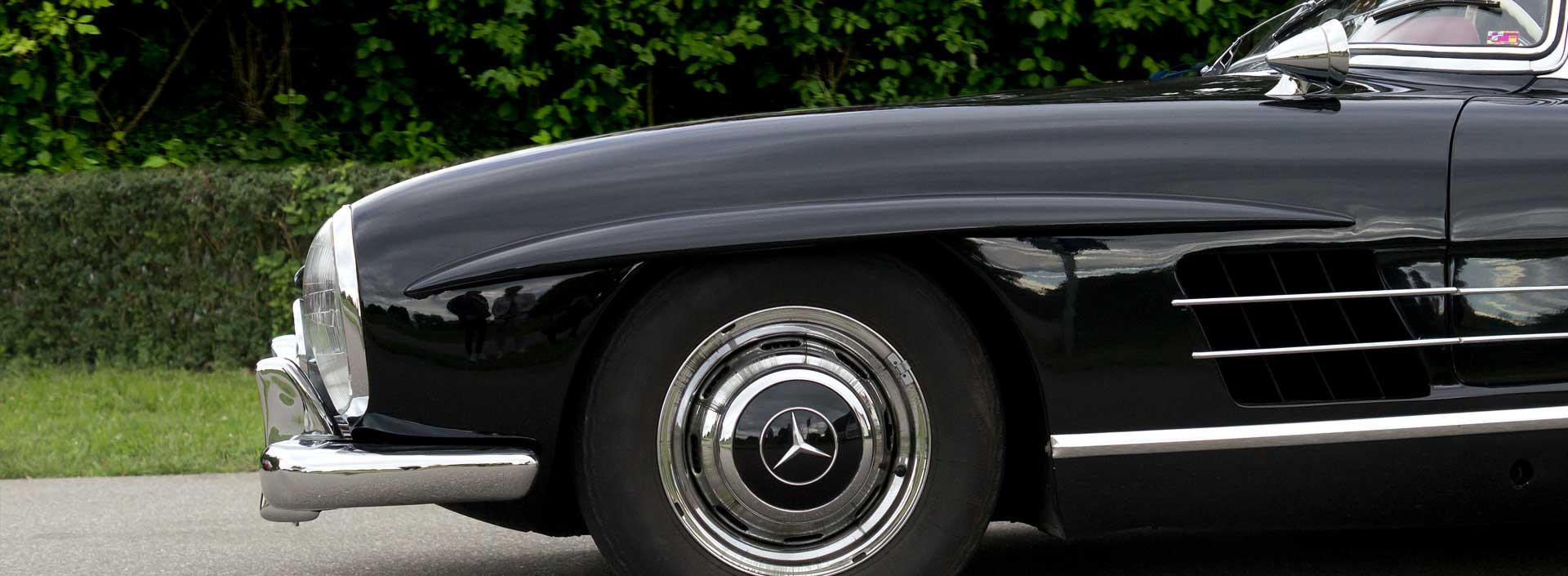 Mercedes-Benz 300 SL beim Autohaus-Erlebnistag